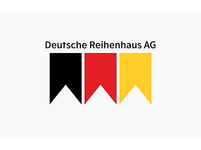 Deutsche Reihenhaus AG brand design logo icon