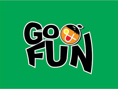 Go & Fun - Energy Drink soft drink grapic design typography branding logo