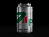 7up Zero-Max - can design