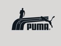 Puma - Track Stripe Logo+runner