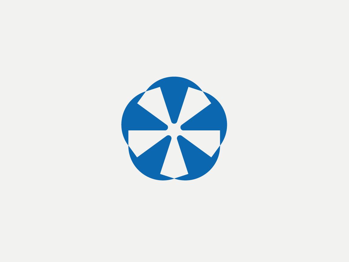 Penta Rotor rotor propeller geometric design shapes penta brand design branding icon logo