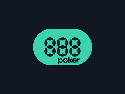 888 - poker poker gambling online 888 brand design typography branding icon logo