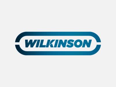 Wilkinson - Blue Steel shaving razor blade razor personal care shapes vector graphic design brand design logotype typography branding logo