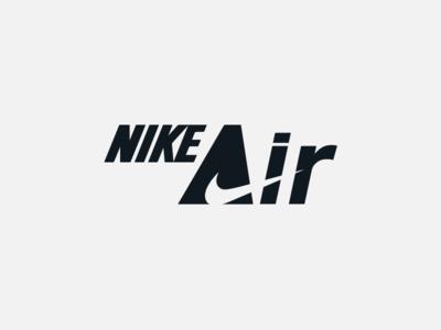 Nike Air sportswear sports branding sports logo swoosh nike running nike nike air max nike air iconotype vector graphic design brand design logotype typography branding icon logo