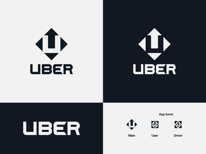 Uber - proposal uber u logo logo designer logo design branding rideshare arrow logo logo concept logo creator logo design wordmark negative space logo brand design logotype typography branding icon logo