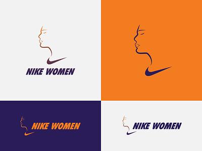 Nike Women - proposal women nike identity designer identity design brand identity logo mark wordmark sportswear sports branding sports logo logo design concept logo concept logo designer logo design brand design logotype typography branding icon logo