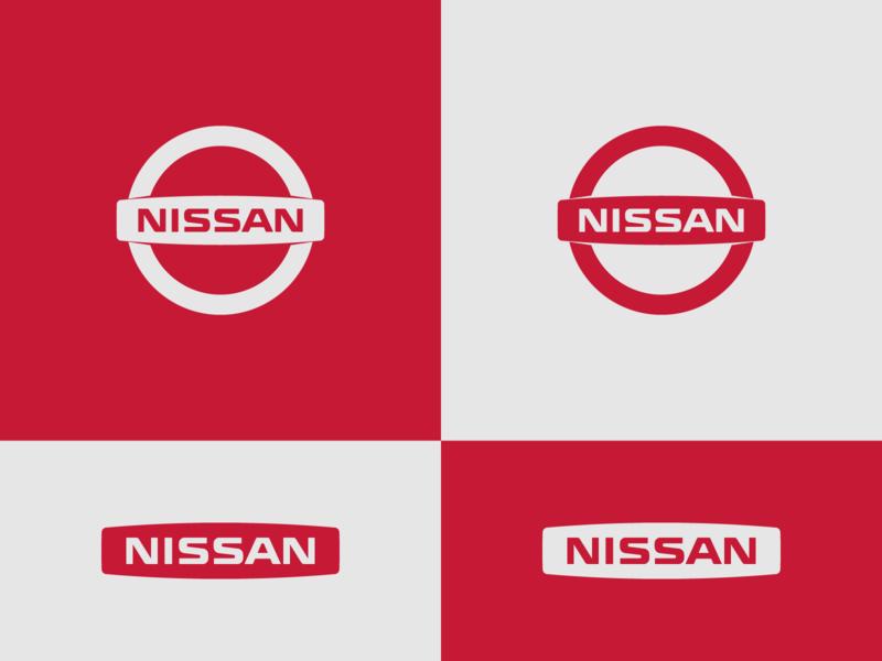 Nissan - flat design proposal responsive design brand identity wordmark mark flat design logo designer logo design concept identity branding identity designer brand development brand designer automotive logo nissan brand design logotype typography branding icon logo