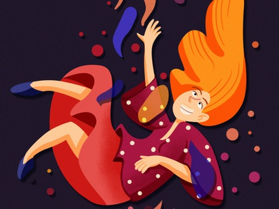 Inspired by music pt.2 character design colorful abstract illustration abstract art visual development adobe photoshop adobe book illustration girl illustration illustration drawing digital painting digital art design children illustration cartoon