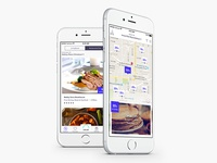 Map and List View for Restaurants Plus