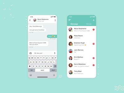 Chat app design 📝