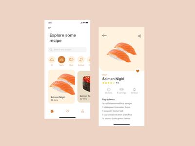 Recipe App Design 🍴