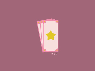 Cardcaptor Sakura #dribbbleweeklywarmup