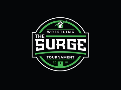 The Surge sports tournament rankings power sports logo wrestling logo sports tournament the surge surge pa folkstyle wrestling