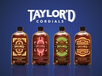 Taylord Cordials Bottle Mockups