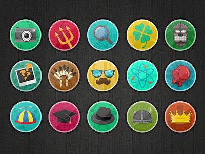 Badges badge illustration game