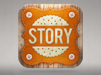 Story Biscuit Icon illustration icon ios