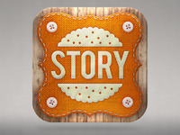 Story Biscuit Icon