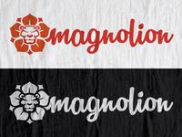 Magnolion logo concept