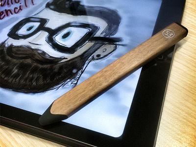 Hello Pencil! 53 pencil paper ipad draw illustration selfie