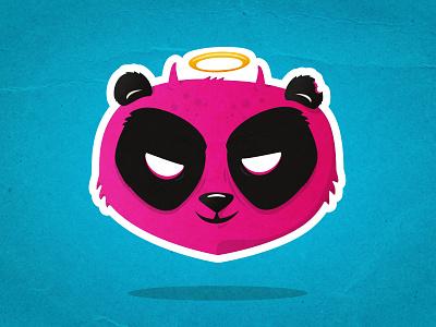 Pandevil 😈 sticker devil panda