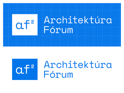 Architektura Forum 2.0 -- First logo draft logotype illustration logo