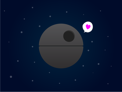 Happy 4th of May! may4th deathstar star wars illustration