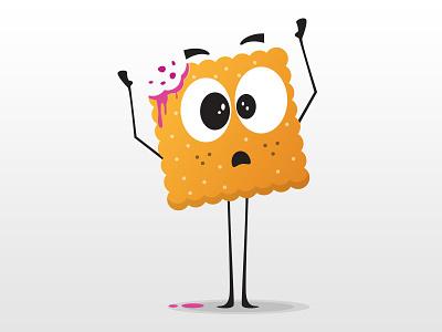 Mr. Keks illustration biscuit