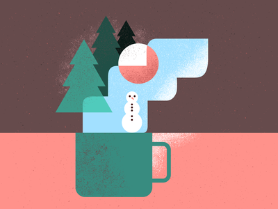 Cup of Christmas tea