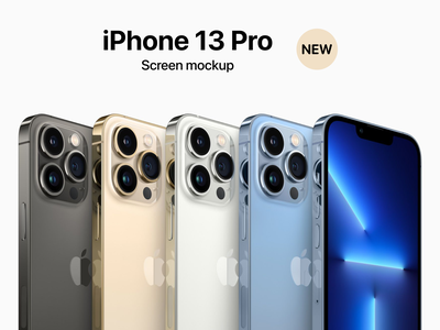 iPhone 13 Pro Mockup (Figma) ios figma freebie mockup iphone 13 pro app iphone mobile