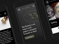 The Bureau — Mobile Web