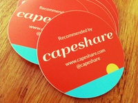 CapeShare Stickers