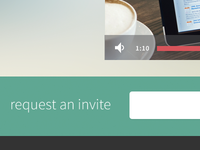 request invite w/vid player
