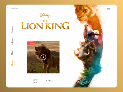 Movies Web Design movies website branding web trend online designs design ui new ux