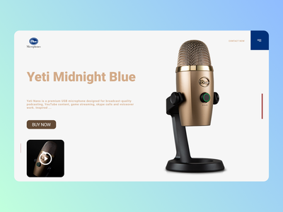 Bluetooth mics website minimal web trend online designs branding design new ux ui