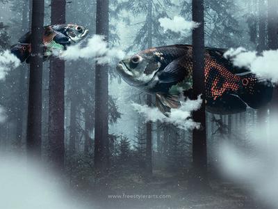 #15 Let art swim freely