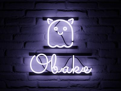 Neon sign neon sign ghost 3d b3d
