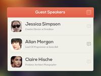 Guest Speakers