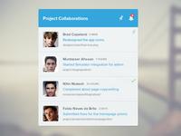 Collaboration Widget