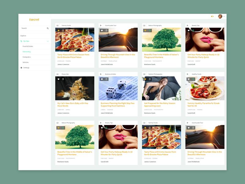 Dashboard dashboard website web app pin bookmark social flat app web ui ux