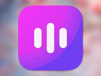 Icon lcd purple icon ios color ios8 apple rad m ui ux