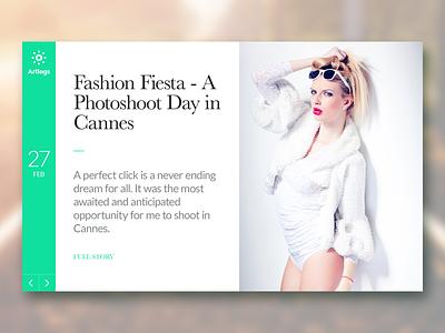 Arting Blog clean fashion development creative theme wordpress blog