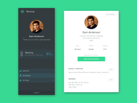 Navigation and User Profile