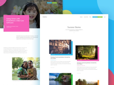 Success Stories sass redesign conversion ux research website development wordpress product design ux ui school childcare