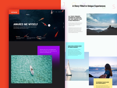 Travel Story outdoor layout css html wordpress reader business ux ui website travel stories