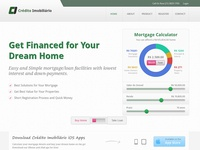 Financial Site's Homepage
