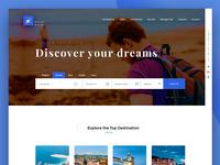 Travel Dreams interfaces
