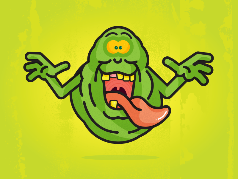 Slimer By Brandt Farmer Dribbble Dribbble