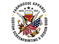 FarmHouse Apparel Eagle Design