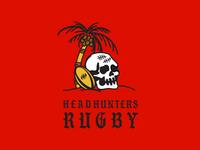 Headhunters Rugby T-shirt Design
