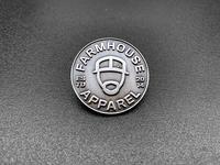 FarmHouse Appare Face Icon Enamel Pin